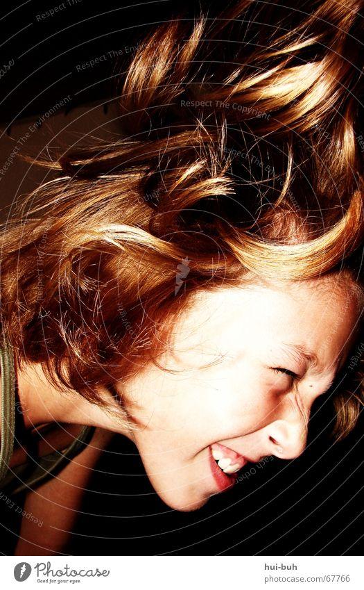 rock me babe. Gesicht Gefühle Haare & Frisuren Tanzen fliegen rocken durchdrehen