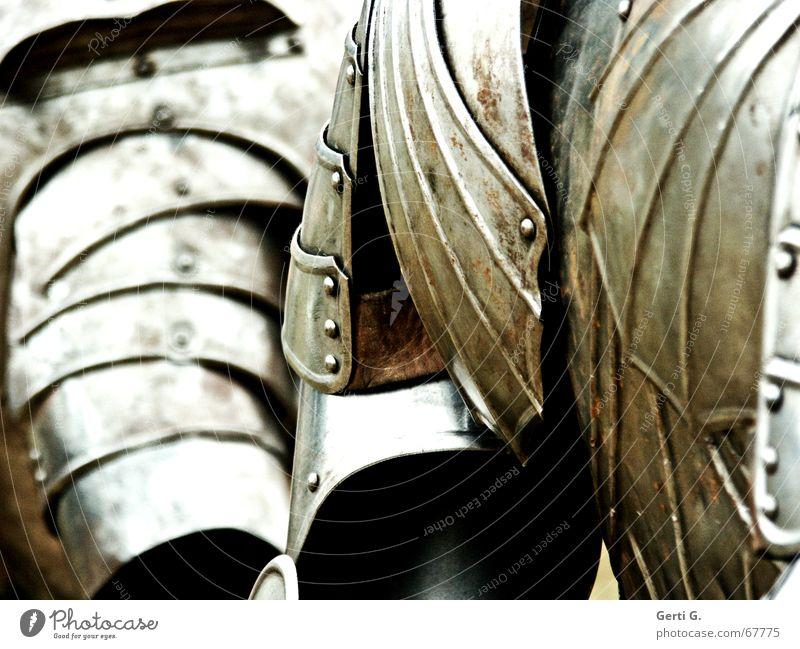 rüsti*g Blume Adel Ausgrenzung Eisenplatte Schulter Geldschrankknacker Bronze Bonze Rüstung Schutzbekleidung Sportveranstaltung Mangel Schlacht abrüsten Ritter