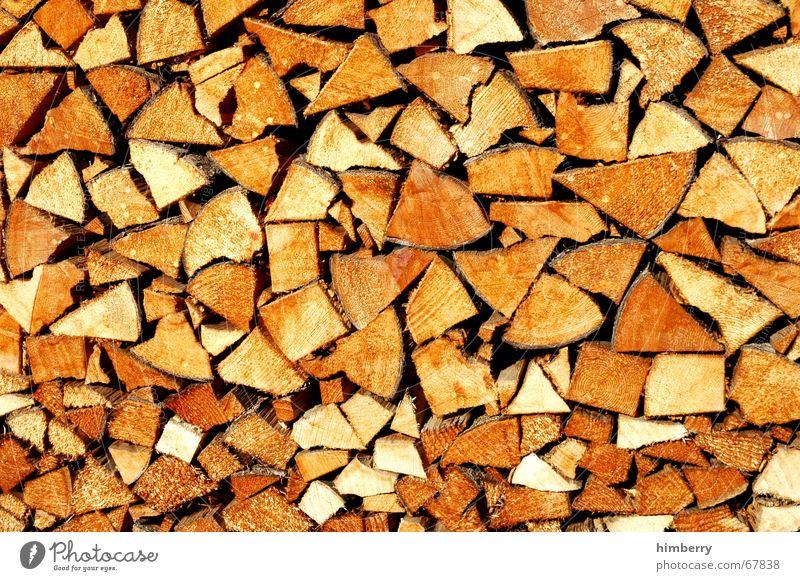 woodstock Baum Winter Holz Energie Elektrizität Baumstamm Rohstoffe & Kraftstoffe Brennholz Holzstapel Nutzholz