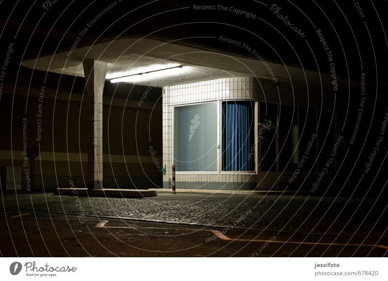 Tankstelle Duisburg Deutschland Europa Bauwerk Gebäude Architektur Fassade Vordach Dach Fliesen u. Kacheln alt retro Einsamkeit Nostalgie Vergangenheit