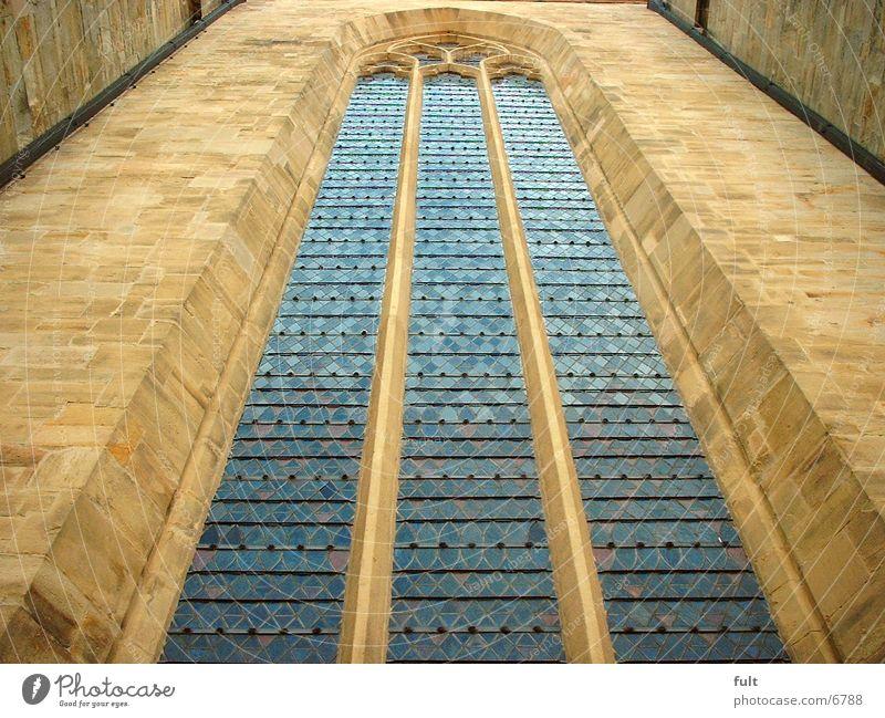 Fenster Stil Glas Gotteshäuser Sandstein