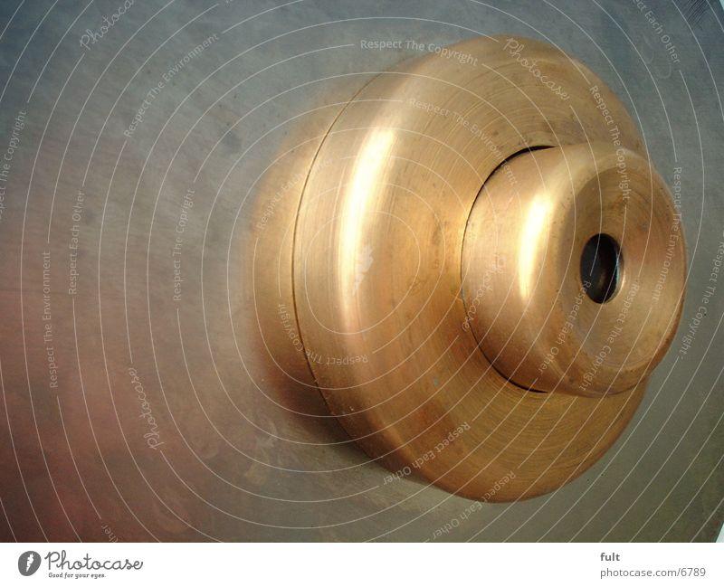 Guckloch Fernglas Loch Messing Freizeit & Hobby Metall