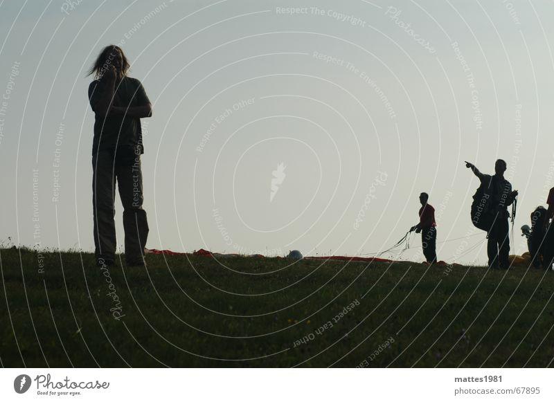 Der Aussenseiter alt sprechen fliegen mehrere Information Teilung Teamwork Anleitung Notfall Zusteller Funktechnik Befehl kommandieren Randgruppe Wasserkuppe