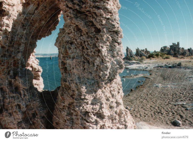 See Wasser Strand Stein Sand Salz
