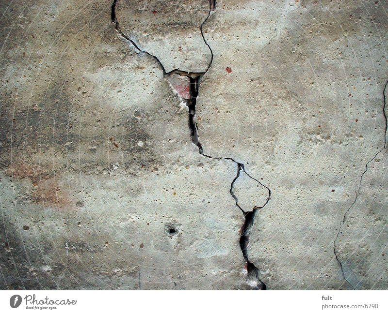 Riß Mauer Putz kaputt Architektur Riss