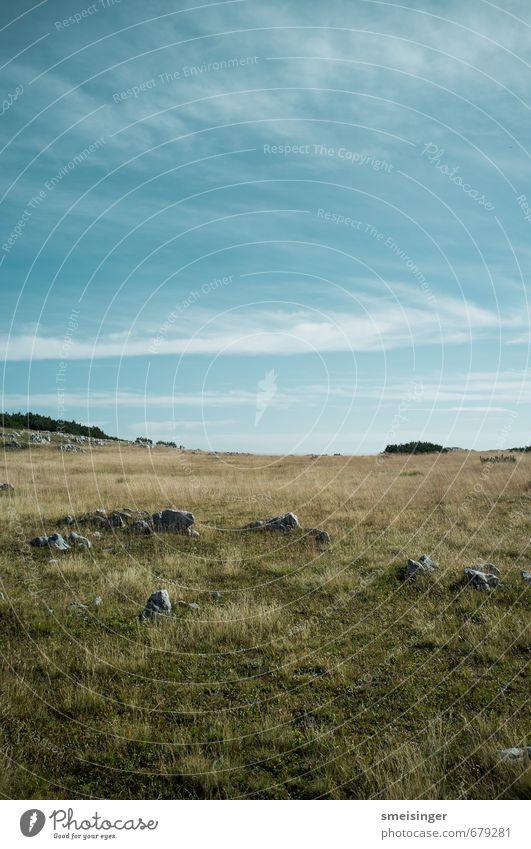 Rohan #2 Berge u. Gebirge wandern Umwelt Natur Landschaft Himmel Gras Alpen Warschenegg Ferne natürlich Horizont Ebene Felsen breit Österreich Europa Farbfoto