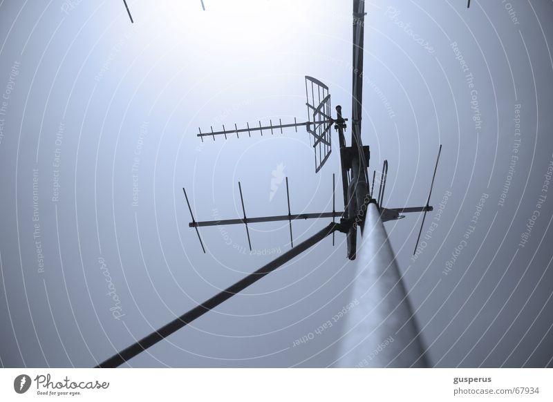 { SIGNAL SALAT } alt oben Technik & Technologie Dach Fernsehen Top Radio Antenne Software transferieren einfangen Verstärker Rundfunksendung