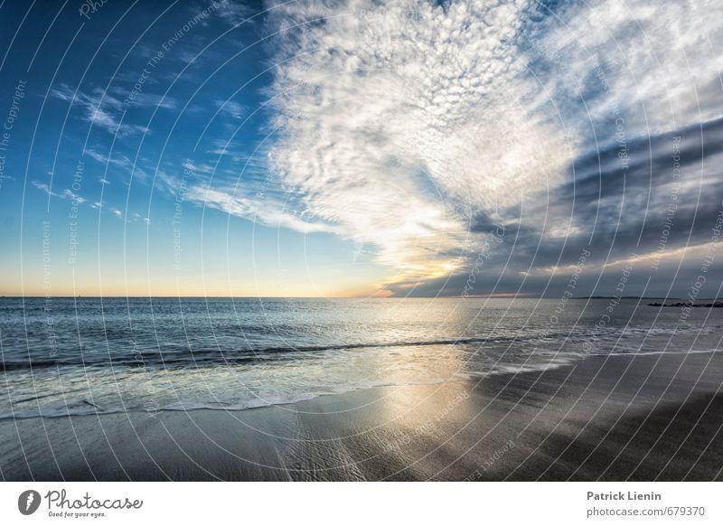 Nobody Nowhere Himmel Natur Wasser Meer Erholung Landschaft ruhig Wolken Ferne Strand Umwelt Küste Sand Luft Wetter Wellen