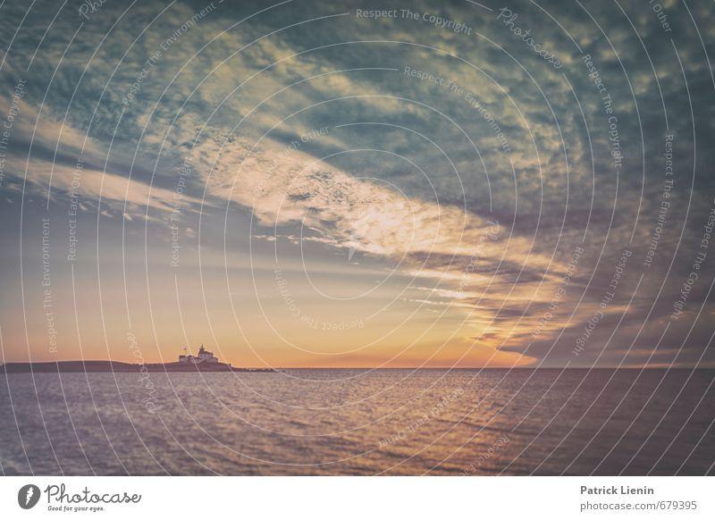 Watch Hill Himmel Natur Ferien & Urlaub & Reisen Wasser Sommer Sonne Erholung Meer Landschaft ruhig Wolken Ferne Umwelt Küste Freiheit Stimmung