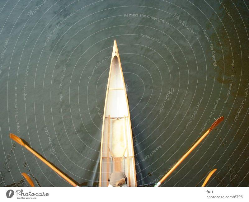 Ruderboot #3 Wasserfahrzeug Extremsport Mensch