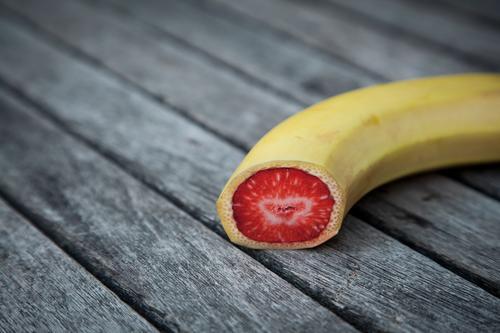 Was geht....wird auch gemacht.... Lebensmittel Frucht Ernährung Bioprodukte Vegetarische Ernährung Diät Gesunde Ernährung Holz Essen außergewöhnlich exotisch