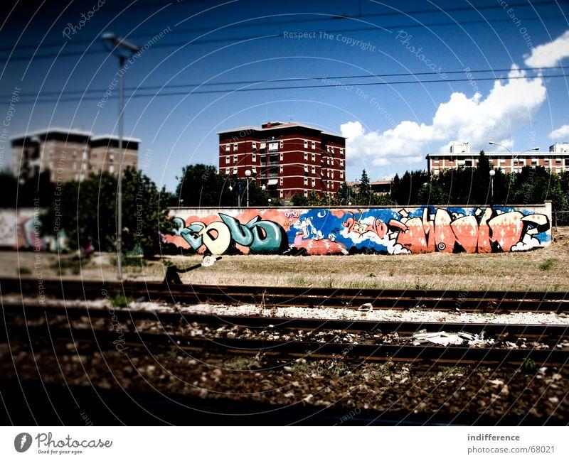 Urban Design 2 Himmel Stadt Graffiti