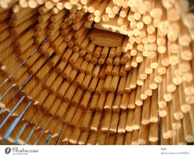 Rattan Natur Holz Häusliches Leben Rollo