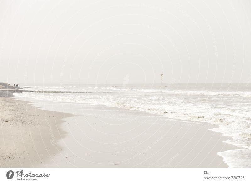 mehr meer Himmel Natur Ferien & Urlaub & Reisen Wasser Meer Landschaft ruhig Wolken Ferne Strand Umwelt Wege & Pfade Küste Freiheit Sand Horizont