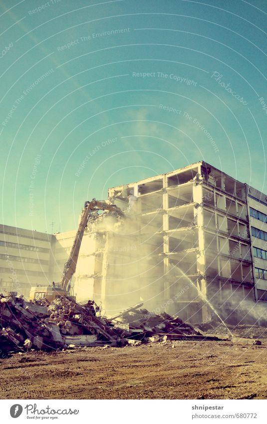 Der Traum vieler Männer Haus Architektur Gebäude Berlin Metall Deutschland Arbeit & Erwerbstätigkeit Europa Beton Bauwerk Bankgebäude Stadtzentrum chaotisch