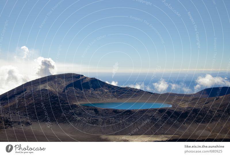 ein schlückchen himmel Himmel Natur Wasser Sommer Einsamkeit Landschaft Wolken Ferne Umwelt Berge u. Gebirge See Erde Tourismus Klima wandern Schönes Wetter