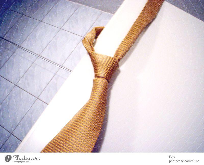 Krawatte Tür Bad Dinge Stoff Krawatte Knoten