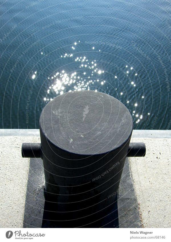 schweres Metal Wasser Sonne Meer schwarz Kiel Wellengang