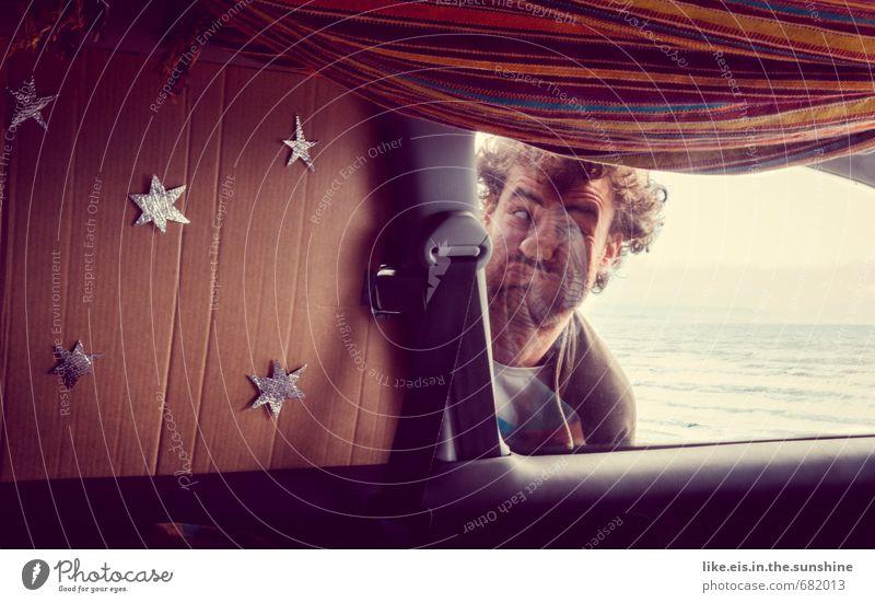 mal wieder die nase plattgedrückt? Mensch Jugendliche Ferien & Urlaub & Reisen Mann Sommer Meer 18-30 Jahre Ferne Strand Junger Mann Erwachsene Freiheit