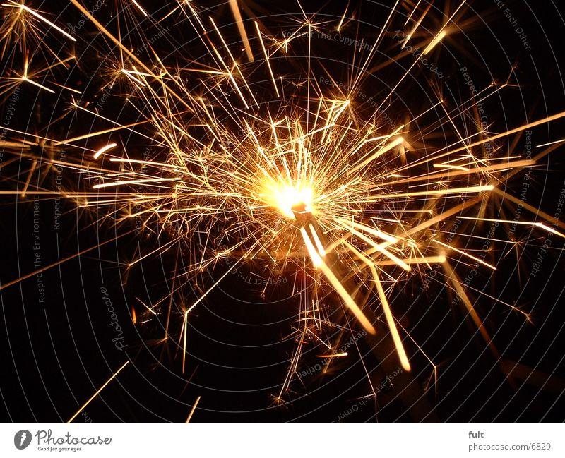 Wunderkerze glänzend Stern (Symbol) Dinge Wunderkerze