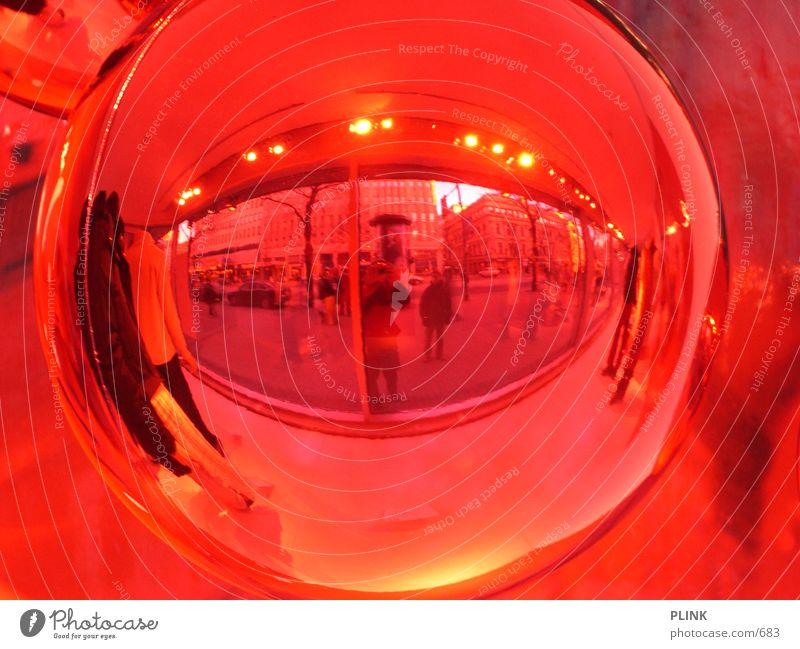 kamerakopf - fortsetzung rot Dekoration & Verzierung Spiegel Kugel