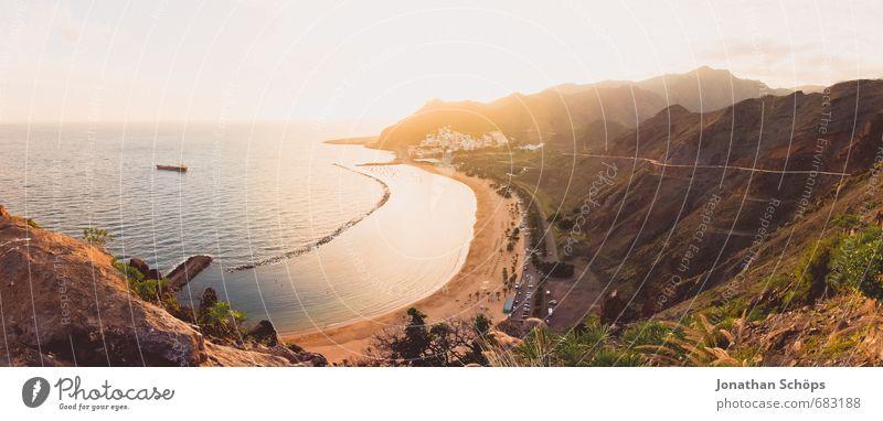 San Andrés / Teneriffa VI Himmel Natur Ferien & Urlaub & Reisen Pflanze Sonne Meer Erholung Landschaft Strand Berge u. Gebirge Umwelt Wärme Schwimmen & Baden Sand Idylle Zufriedenheit