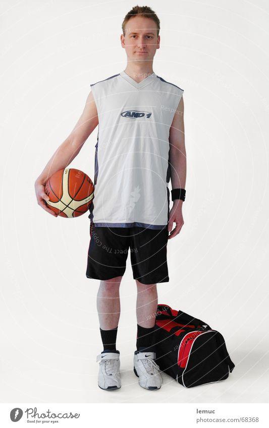 basketballer Sport Fitness sportlich Sport-Training Basketball Trikot Sportbekleidung Ballsport