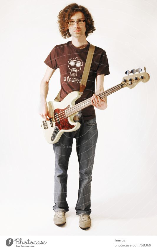 surge Rock 'n' Roll Popmusik Jazz bassist bassplayer Musiker Kontrabass at the drive-in Locken