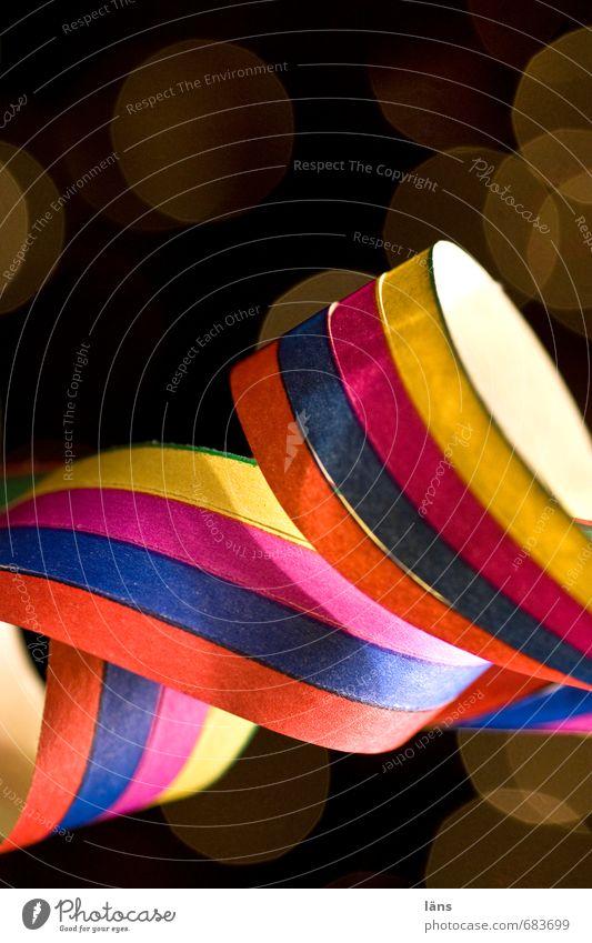 es geht rund Freude Entertainment Party Veranstaltung ausgehen Feste & Feiern clubbing Tanzen Karneval Silvester u. Neujahr Geburtstag Papier