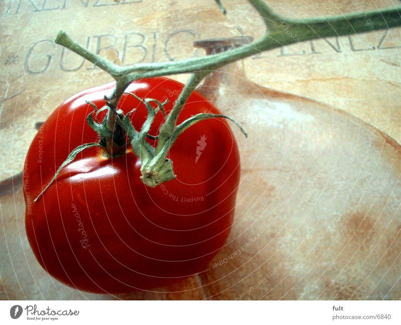 Tomate rot Gesundheit Gemüse Stiehl