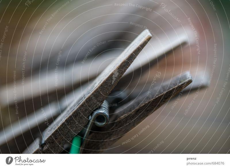 Klammern grün grau Holz Wäscheleine Klammer Wäscheklammern