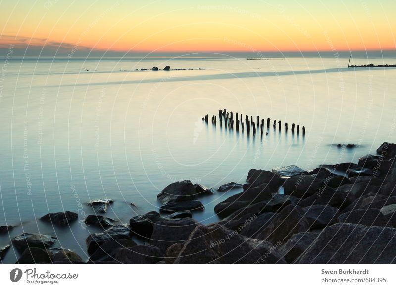 Insel Rügen - Die Seele baumeln lassen Himmel Natur Ferien & Urlaub & Reisen Wasser Sommer Meer Erholung Landschaft ruhig Wolken Strand Umwelt Küste Felsen