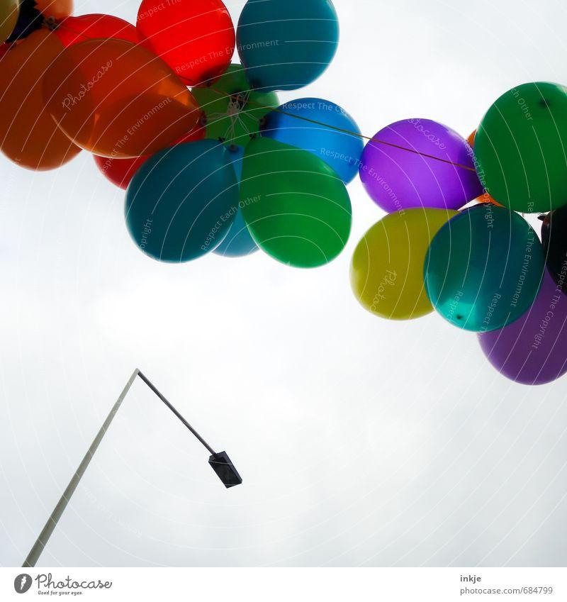 feiern, wie die feste fallen Stadt Freude Leben Gefühle Stil oben Feste & Feiern Stimmung Metall Party fliegen Freizeit & Hobby Lifestyle Dekoration & Verzierung Geburtstag Fröhlichkeit