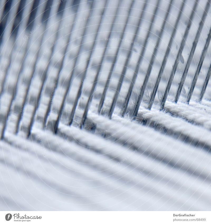 Parallelwelten Nähgarn Faser Stoff Produktion Textilien Bekleidung Arbeit & Erwerbstätigkeit weiß Webstuhl Weben Kamm Kreuz quer kreuzen Handwerk Ausdauer