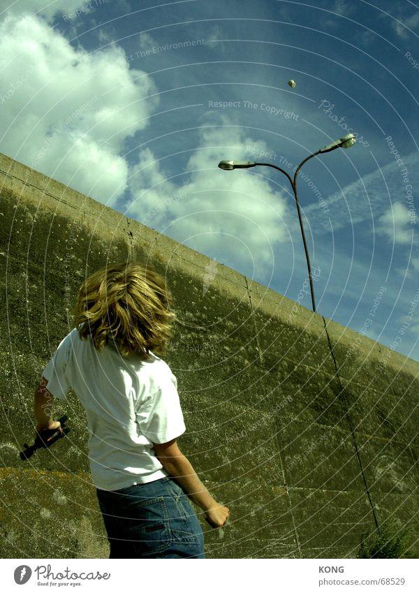 steinescheißen Himmel Lampe Stein fliegen werfen Zentrifuge