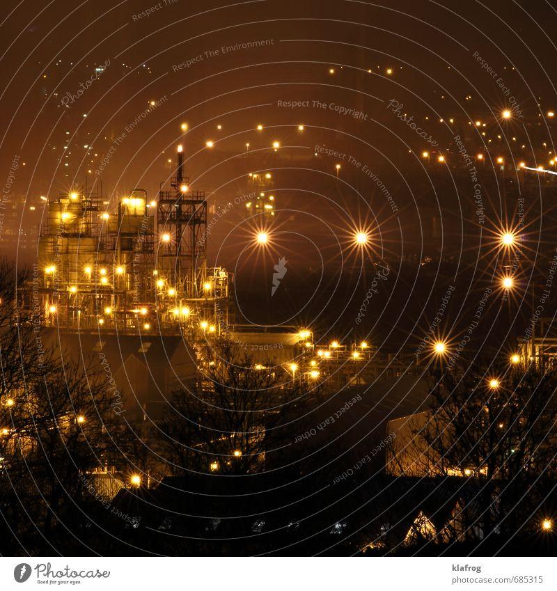 Fabriknacht Industrie Energiewirtschaft Technik & Technologie Wissenschaften Erneuerbare Energie Kohlekraftwerk Energiekrise Klimawandel Menschenleer