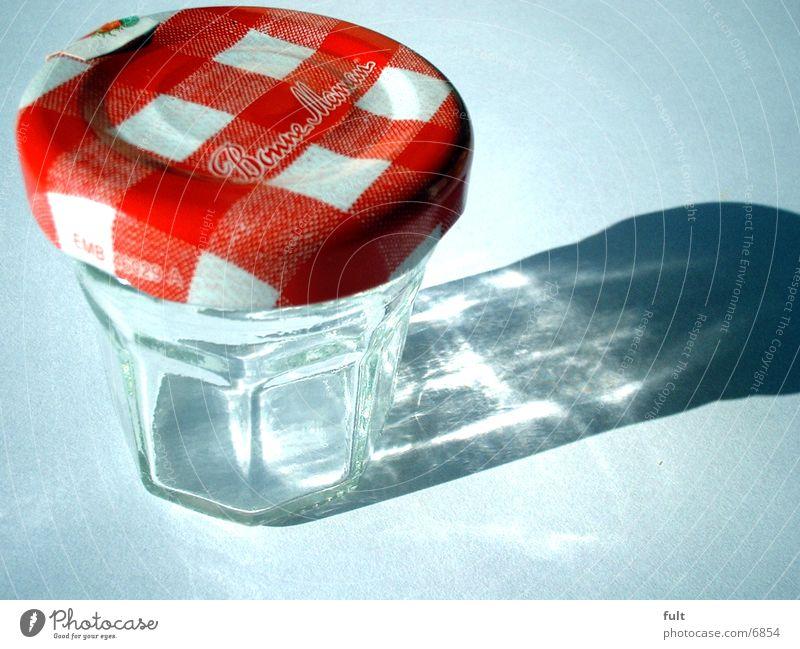 Glas weiß Küche Gully Behälter u. Gefäße