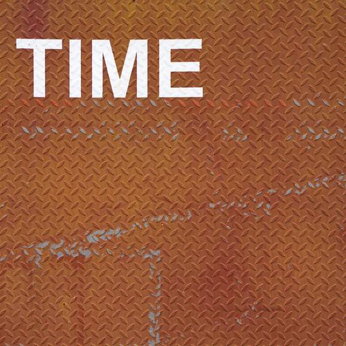 ...is on your side weiß Zeit außergewöhnlich braun Business Metall Schriftzeichen ästhetisch Geschwindigkeit Zukunft planen Ewigkeit Buchstaben Vergangenheit