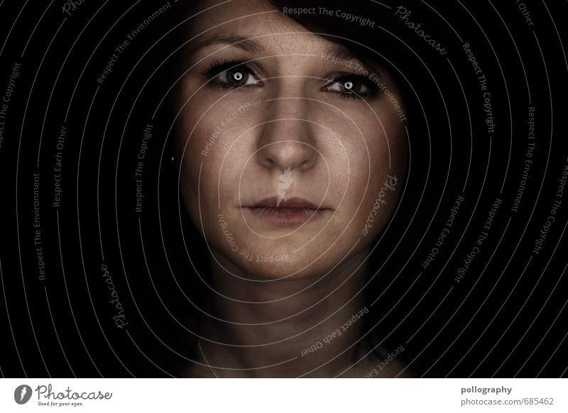 hard shell - soft core (4) Mensch Frau Jugendliche Einsamkeit Junge Frau 18-30 Jahre Erwachsene Leben Traurigkeit Gefühle feminin Kopf Stimmung Trauer Sehnsucht