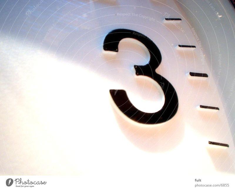 3 Zeit 3 Uhr Ziffern & Zahlen Häusliches Leben