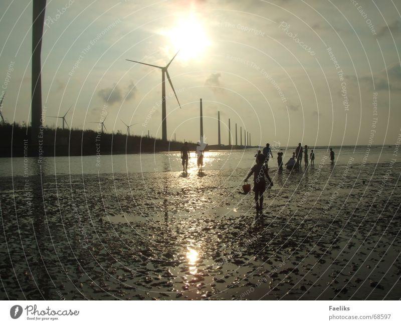 Mitten im Nirgendwo Ferne Strand Wärme Romantik Asien Physik Wattenmeer Taiwan Wissenschaften