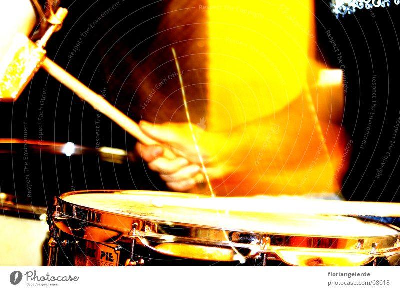 Snare Schlagzeuger Tom Tom ride Becken