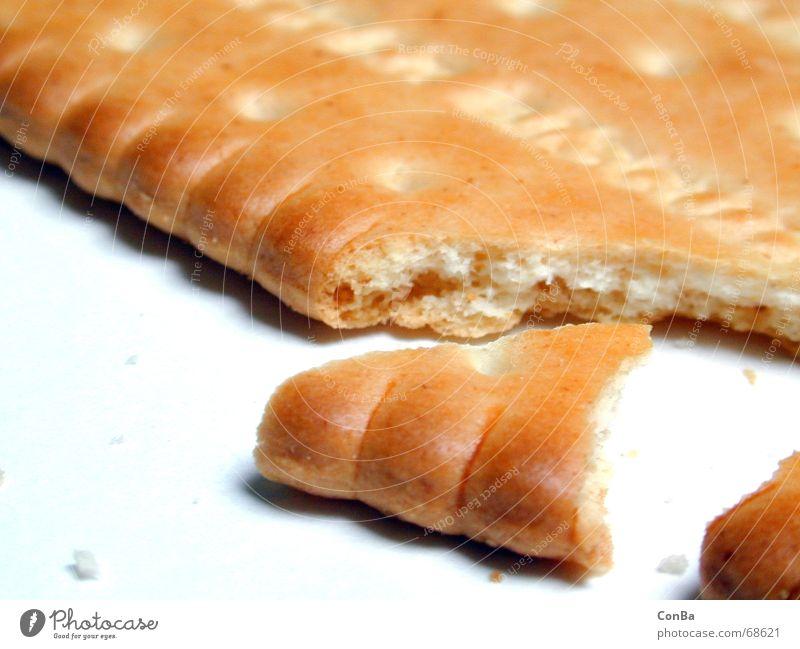 Butterkeks 1 Ernährung Lebensmittel nah kaputt lecker genießen gebrochen Keks