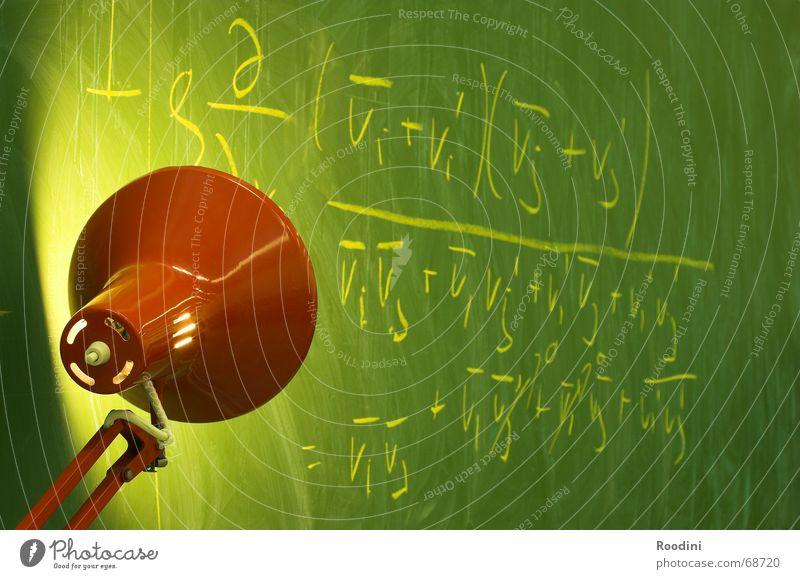 Formula Bildung lernen Studium Schule Lehrer Hochschullehrer Student Licht Mechanik Physik Lampe Tischlampe Mathematik komplex Strömung Trennung Lichtkegel