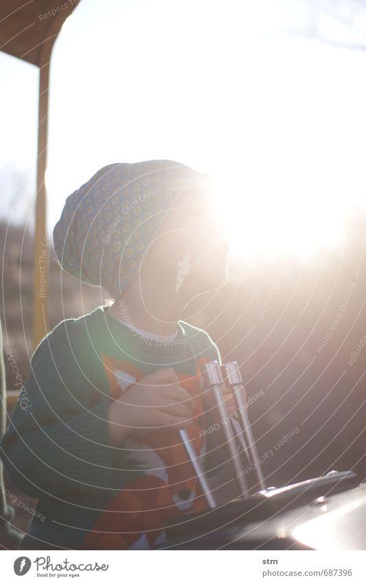 kleiner baggerfahrer Lifestyle Freizeit & Hobby Spielen Kinderspiel Abenteuer Mensch maskulin Kleinkind Junge Familie & Verwandtschaft Kindheit Leben Gesicht