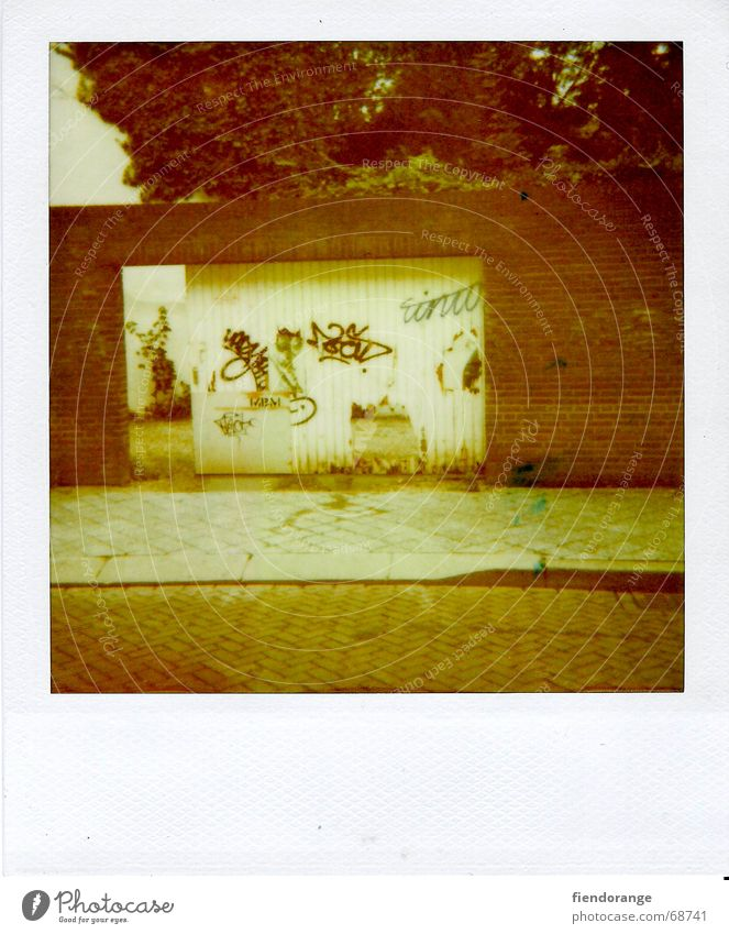 the doors Straße Mauer Graffiti Tor Dose Hinterhof Ghetto Tagger Vorstadt