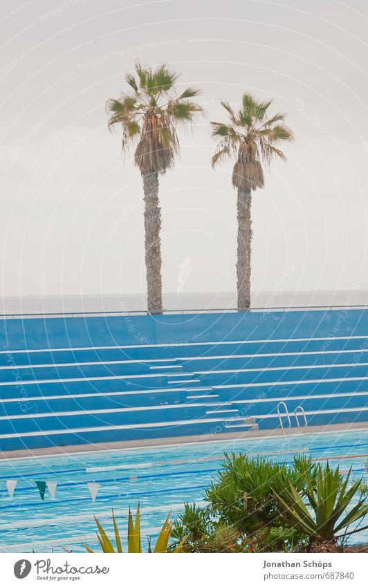 Puerto de la Cruz / Teneriffa VII Umwelt Natur Luft Wasser Himmel ästhetisch Kanaren Spanien Süden Wärme Nebel Badewanne Freibad Schwimmen & Baden Schwimmbad