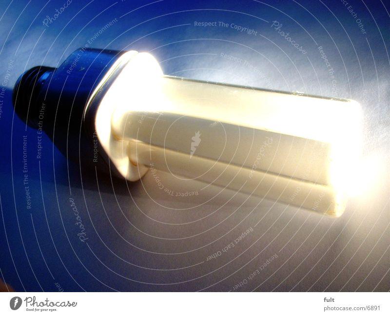 Sparbirne Lampe hell Häusliches Leben Energiesparlampe