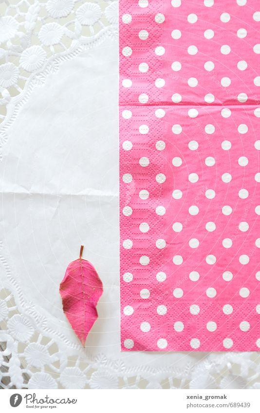 Pink schön weiß Blatt Frühling rosa Freizeit & Hobby Lifestyle Häusliches Leben Dekoration & Verzierung ästhetisch Ernährung Papier Kitsch Küche Schleife