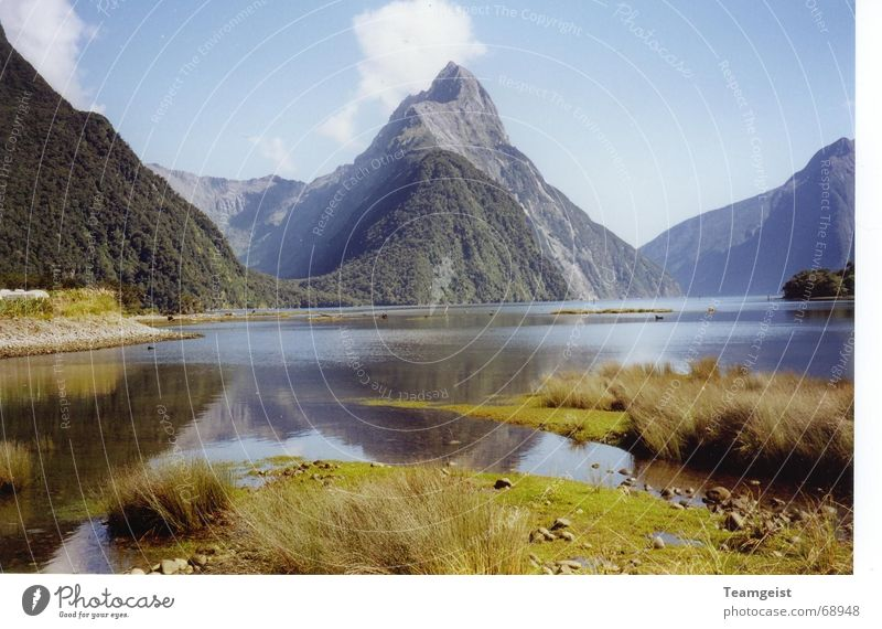 Mitre Peak Neuseeland Digitalfotografie